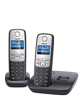 gigaset-a400a-twin-eco-dect-phones-black