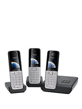 gigaset-c300a-triple-dect-phones-black