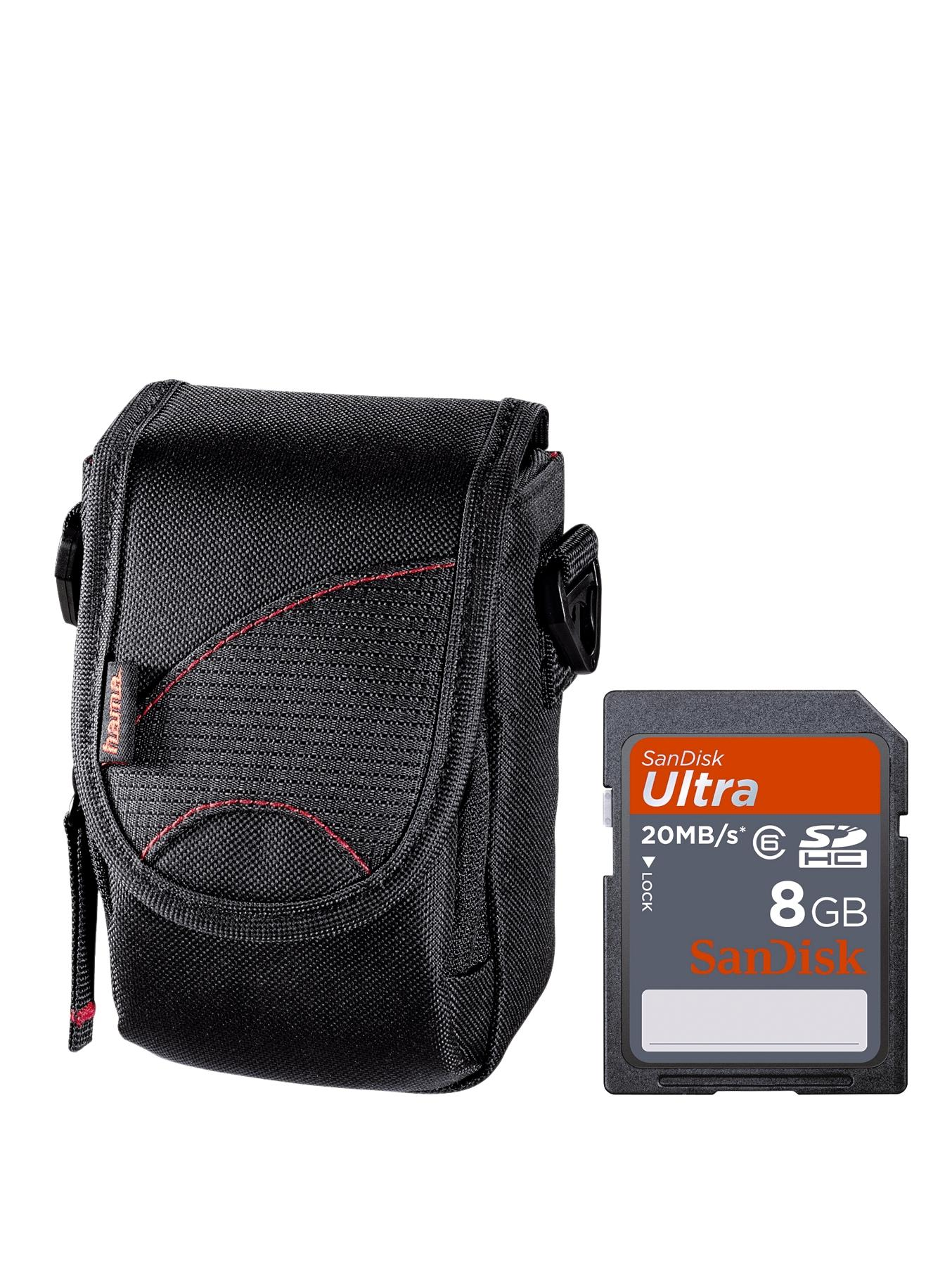 HAMA Superzoom Bundle with SanDisk 8Gb Ultra SD Card and Astana Camera Bag at Very, from Littlewoods