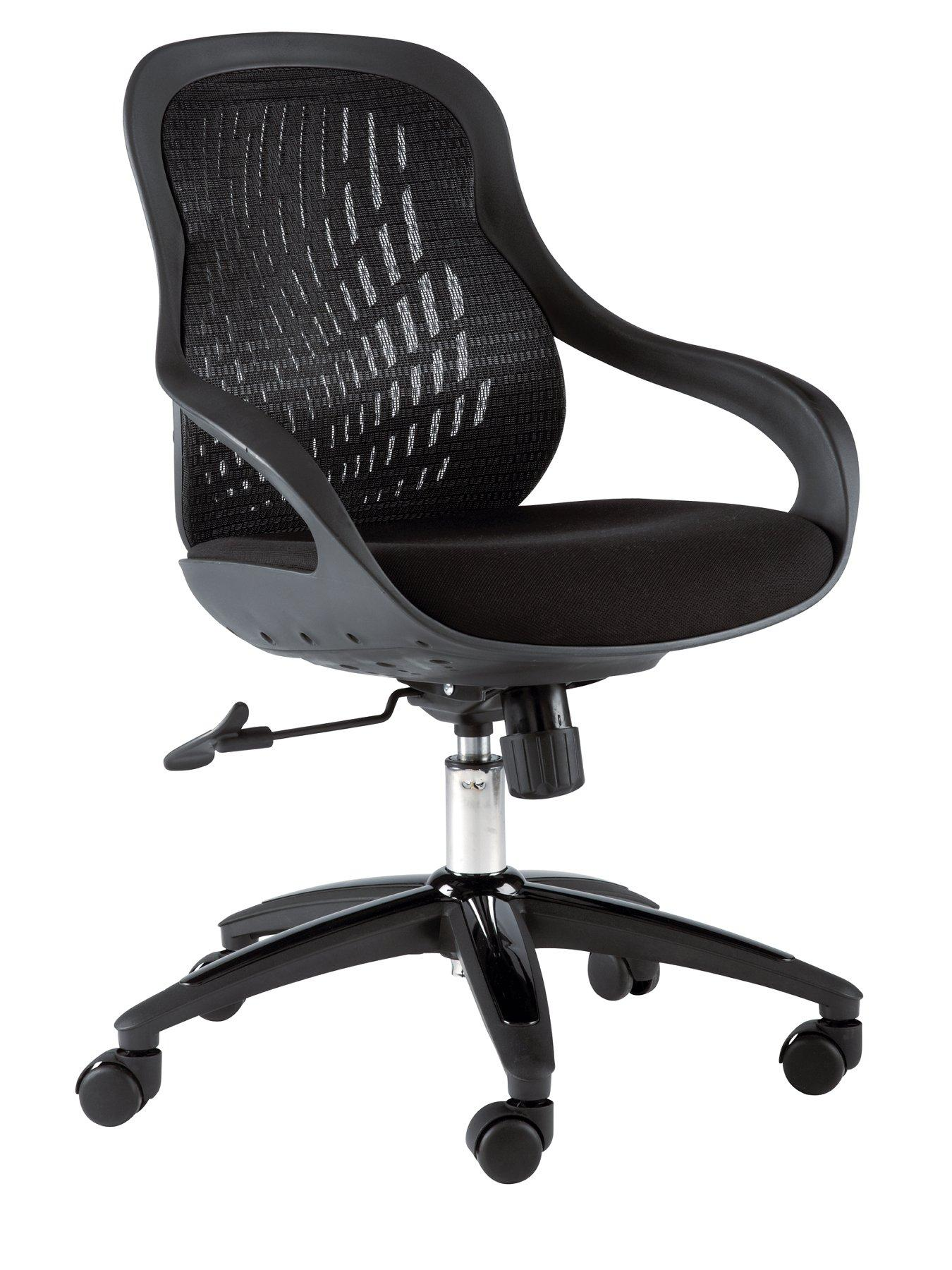 Croft Office Chair - Red, Red,Black