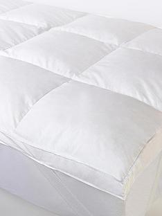 cascade-home-all-natural-luxury-5-cm-feather-mattress-top