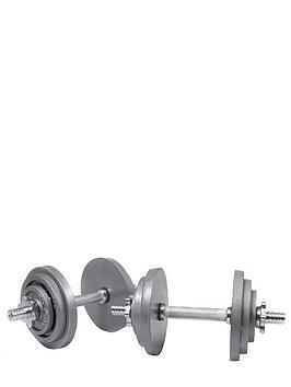 marcy-20kg-cast-iron-dumbbell-set