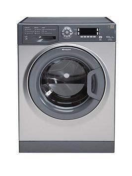 hotpoint-ultima-wdud9640g-1400-spin-9kg-wash6kg-dry-washer-dryer-graphite