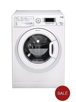hotpoint-wdud9640p-96kg-load-1400-spin-washer-dryer-polar