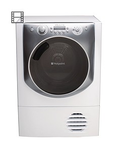 hotpoint-aqc94f7e1m-9kg-load-condenser-tumble-dryer-white