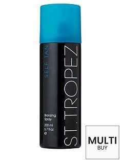 st-tropez-self-tan-dark-bronzing-spray-200ml-and-free-st-tropez-cosmetic-bag-set