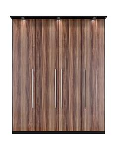vermont-4-door-3-drawer-wardrobe-with-lights