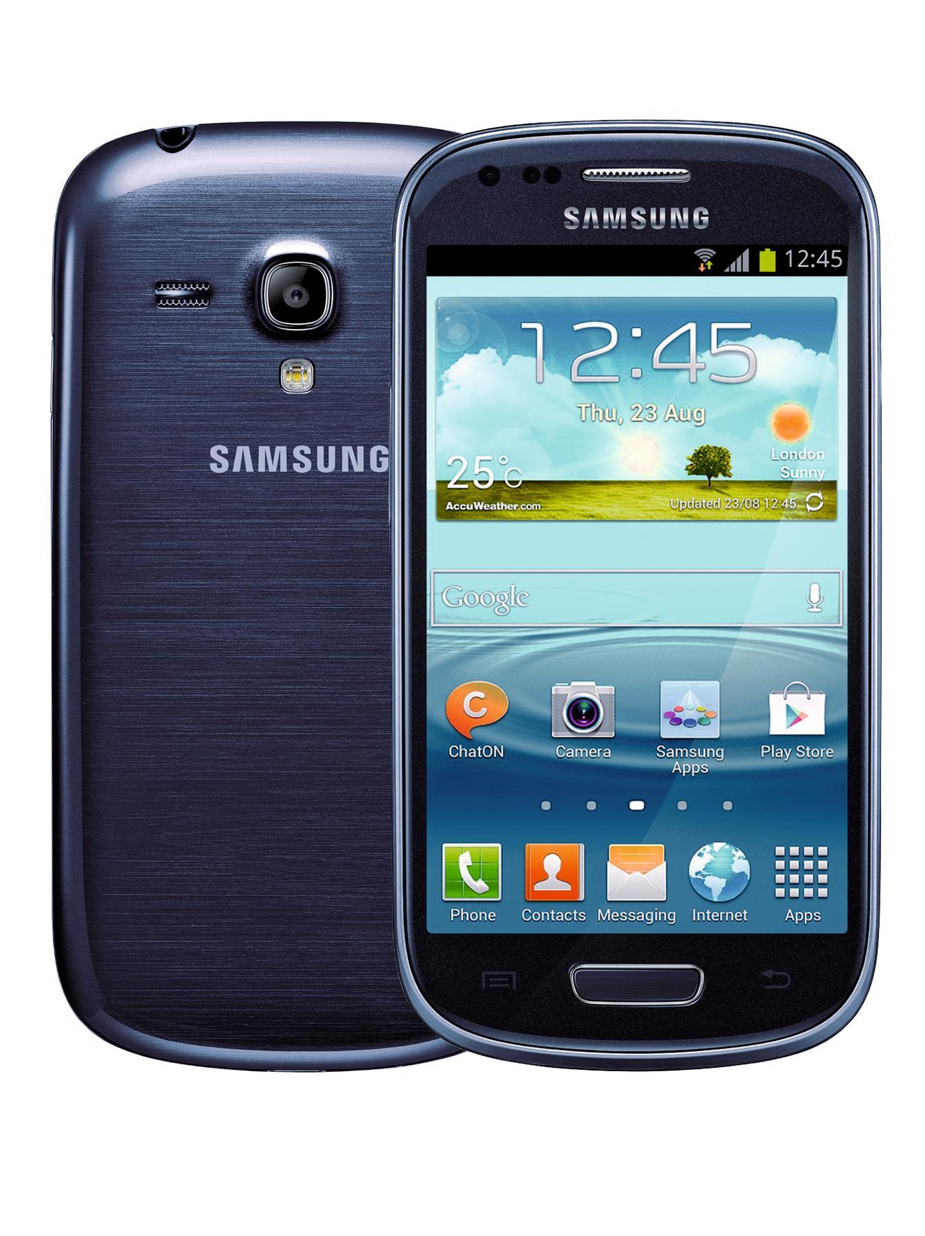Samsung Galaxy S3 Mini 4 inch Smartphone - Blue - Blue, Blue