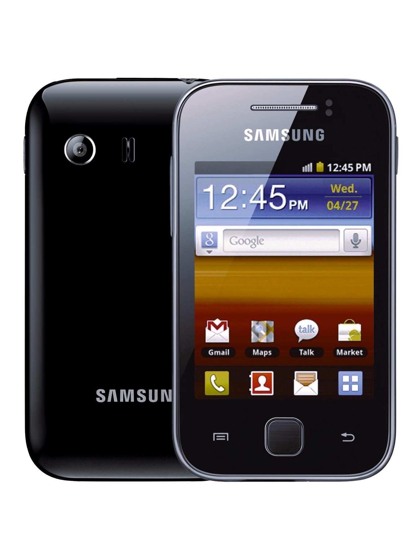Samsung Galaxy Y Smartphone - Black, Black