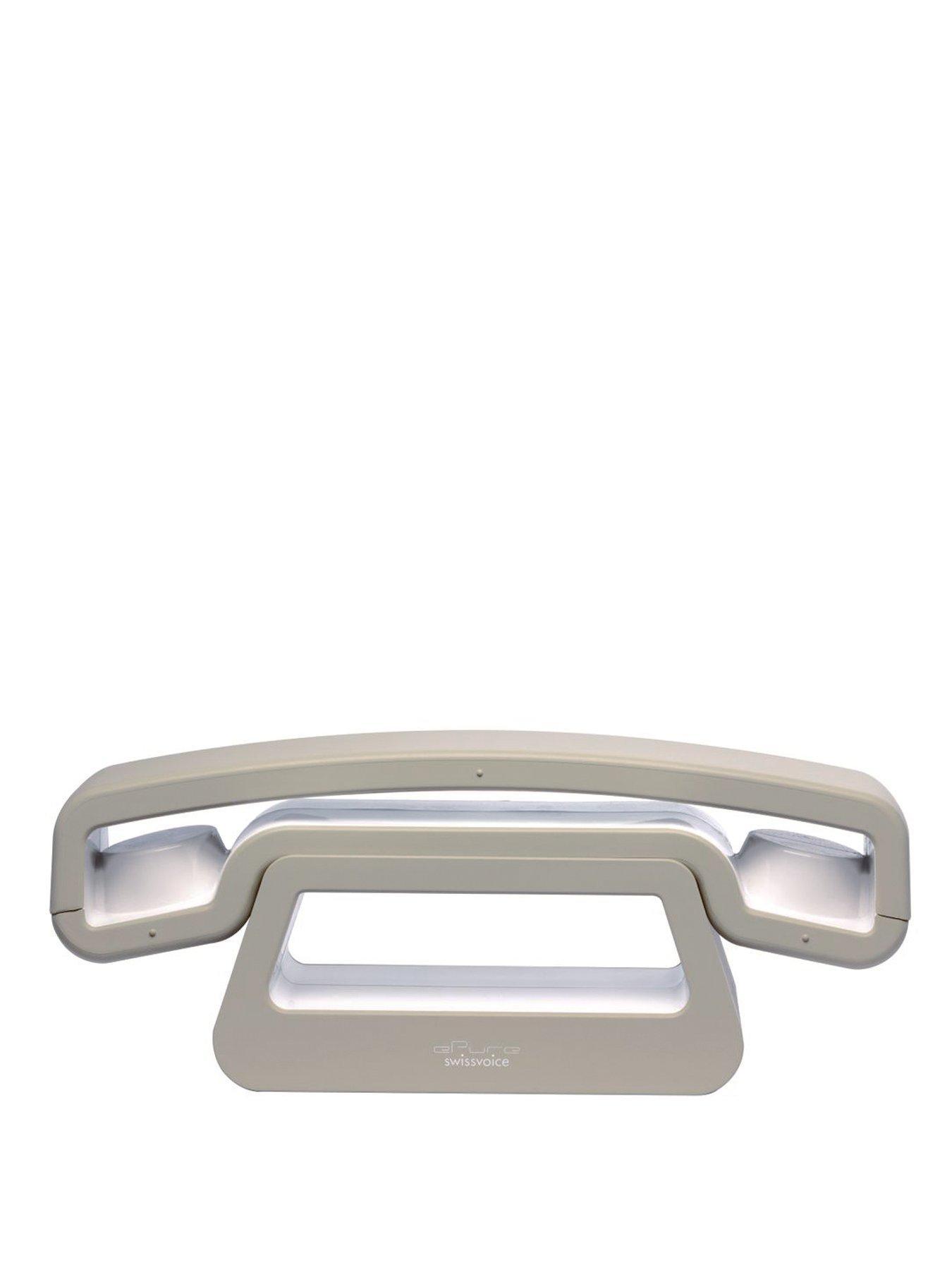 Swissvoice ePure DECT Phone - White/Beige