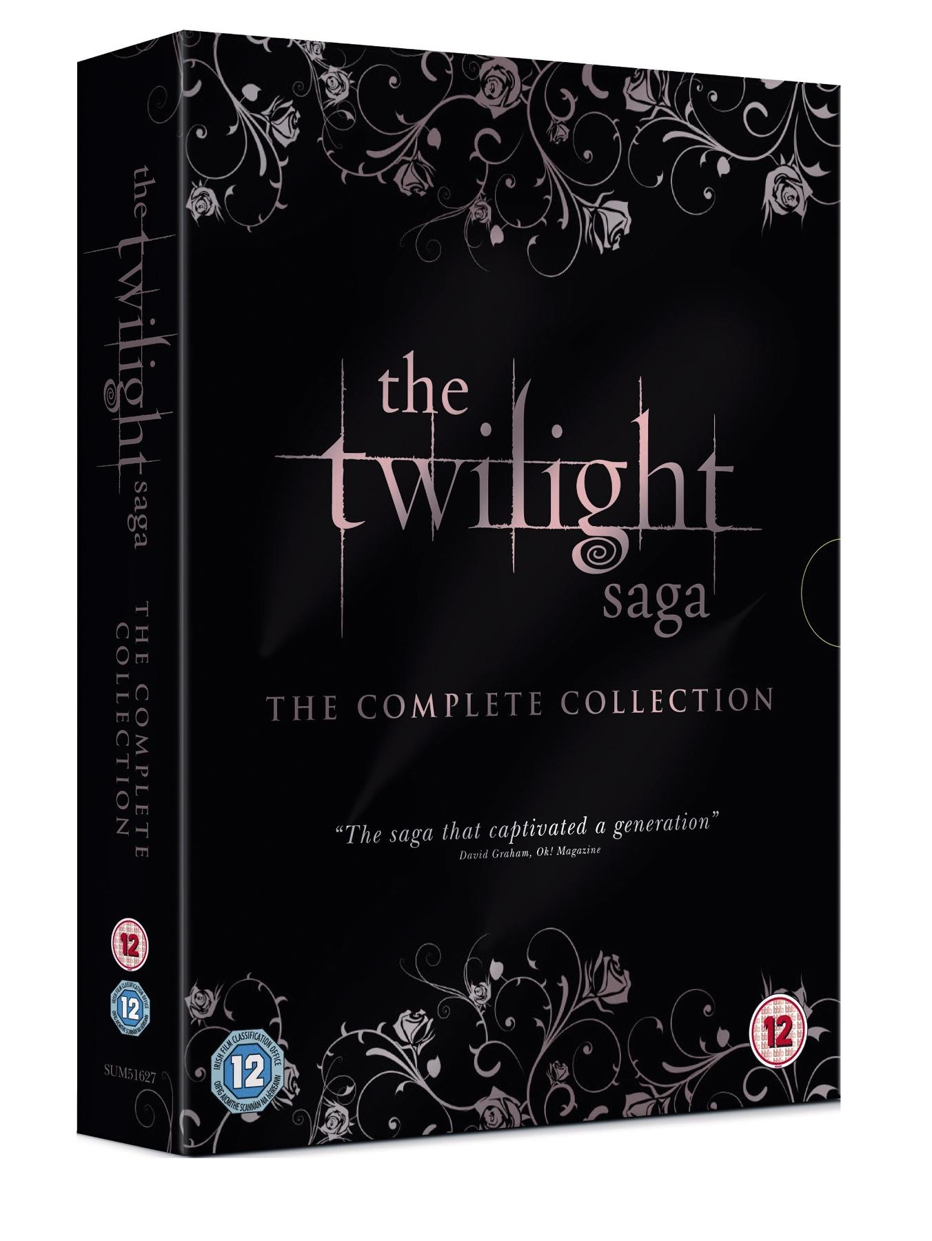 The Twilight Saga: The Complete Collection DVD at Very, from Littlewoods