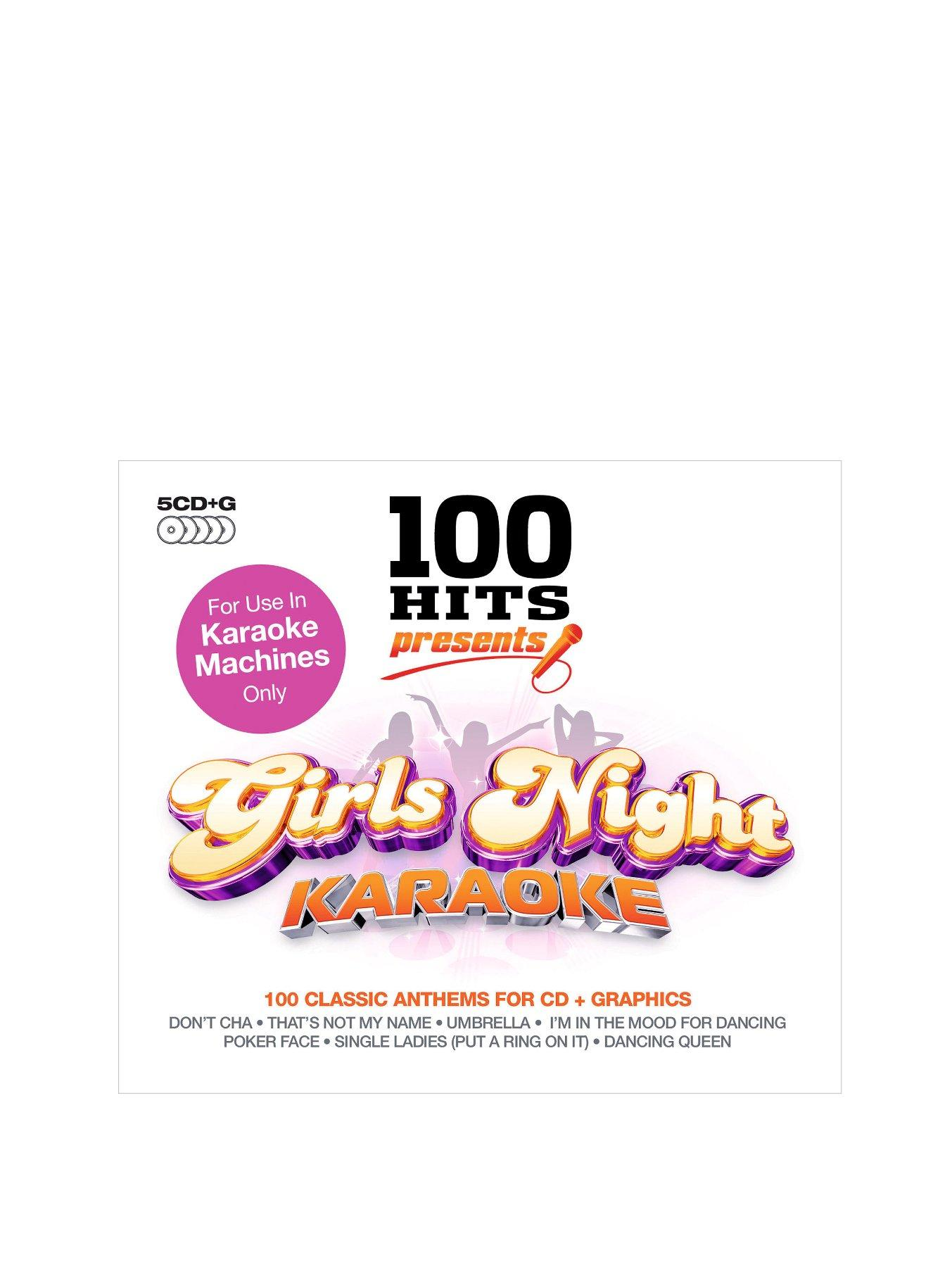 100 Hits - Girl's Night Karaoke CD