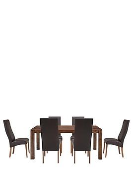 dakota-175-cm-dining-table-and-6-buckingham-chairs