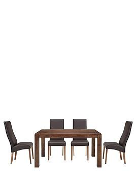 new-dakota-145-cm-dining-table-and-4-buckingham-chairs