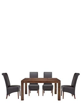 dakota-145-cm-dining-table-4-sienna-chairs