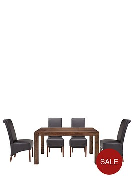 new-dakota-145-cm-dining-table-4-sienna-chairs