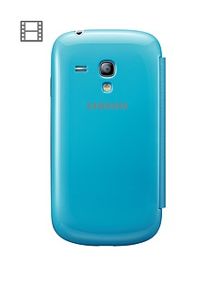 samsung-galaxy-s3-mini-flip-case-light-blue