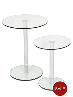 roma-set-of-2-glass-and-chrome-round-side-tables