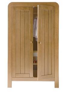 mamas-papas-hayworth-2-door-wardrobe-antique-pine