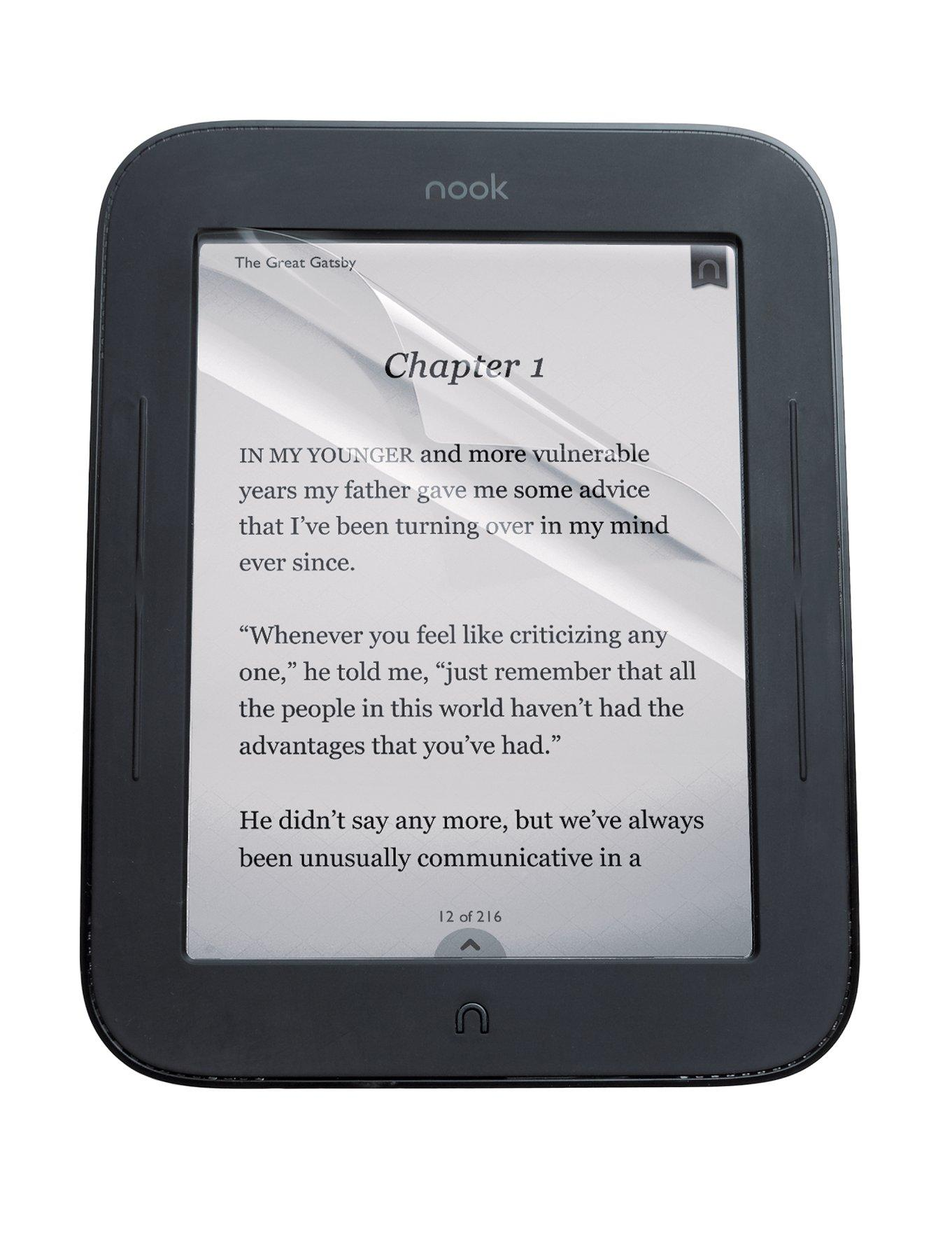 NOOK Simple touch e-reader Anti-Glare Matte 6 inch Screen Protector