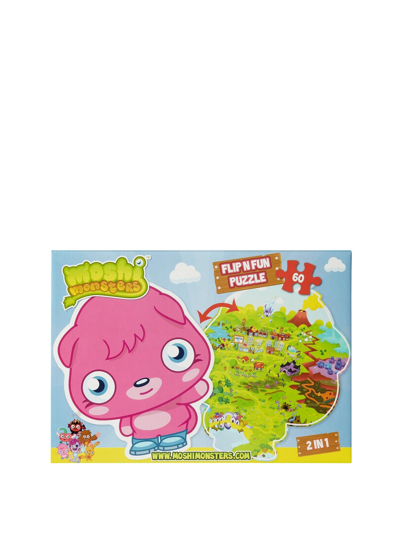 Moshi Monsters Flip and Fun Jigsaw Puzzle