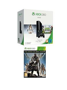 xbox-360-500gb-console-with-plants-vs-zombies-garden-warfare-and-destiny