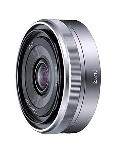 sony-sel16f28-e-16mm-f28-pancake-lens-for-nex-silver