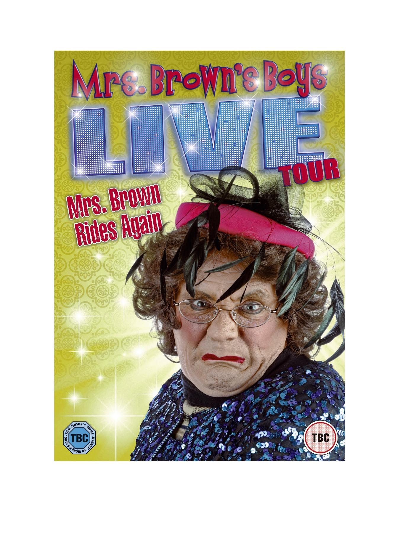 Mrs. Brown's Boys Live Tour: Mrs. Brown Rides Again DVD