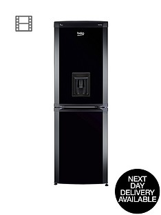 beko-cfd5834apb-55cm-fridge-freezer-black-next-day-delivery
