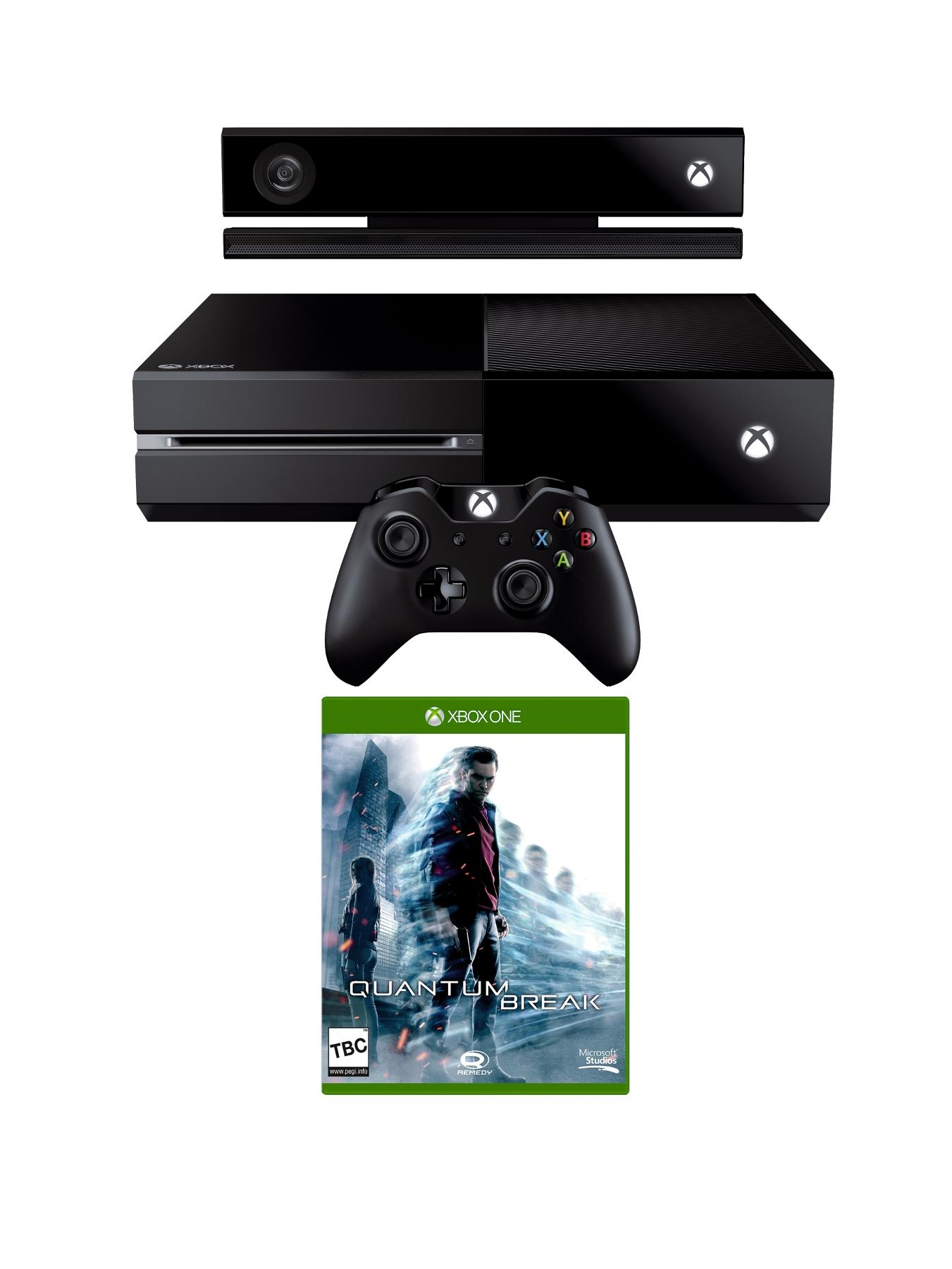 Xbox One Console with Quantum Break and Optional 3 or 12 Months Xbox Live