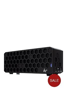 kitsound-hive-bluetoothreg-wireless-portable-stereo-speaker-black