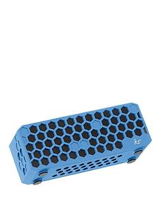 kitsound-hive-bluetoothreg-wireless-portable-stereo-speaker-blue