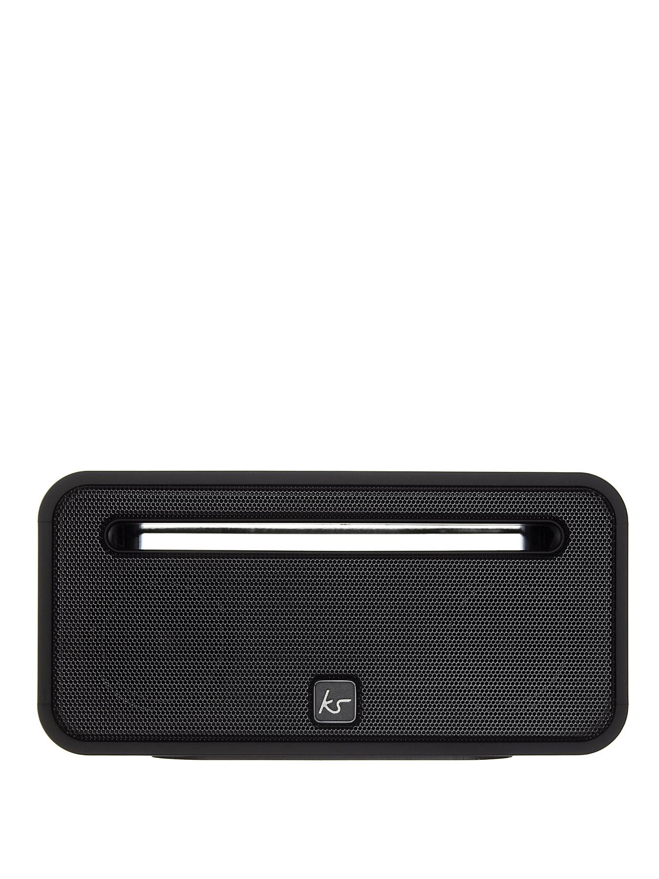 Kitsound Ignite Rechargeable Bluetooth Speaker - Black