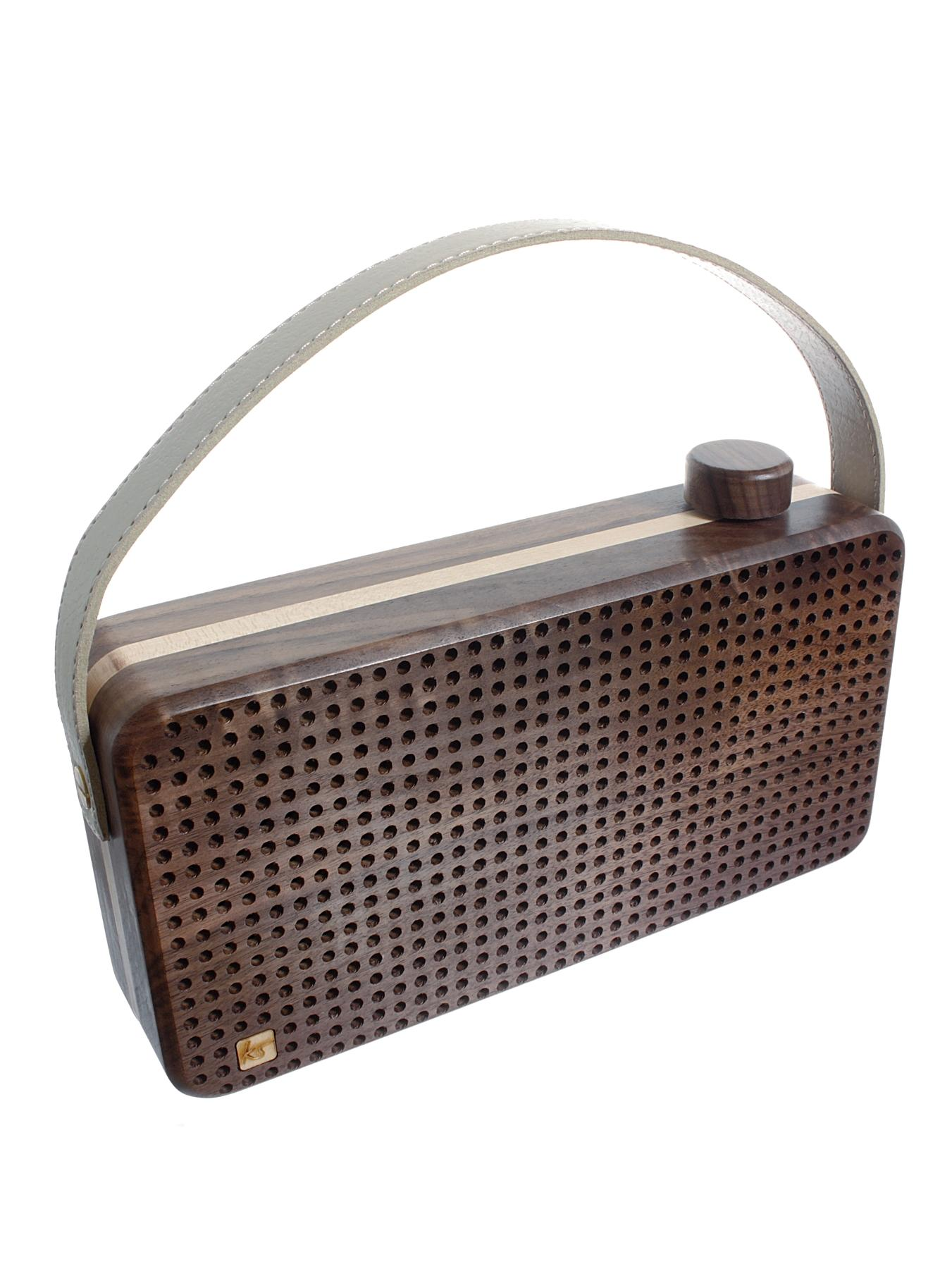 Kitsound Soul Wooden Bluetooth Speaker
