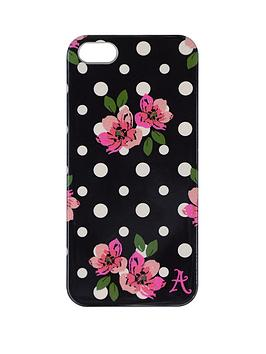 accessorize-iphone-55s-clip-on-case-polka-dot-black