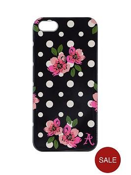 accessorize-iphone-55s-clip-on-case-polka-dot-black