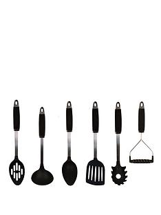 sabichi-essentials-nylon-6-piece-utensils-set