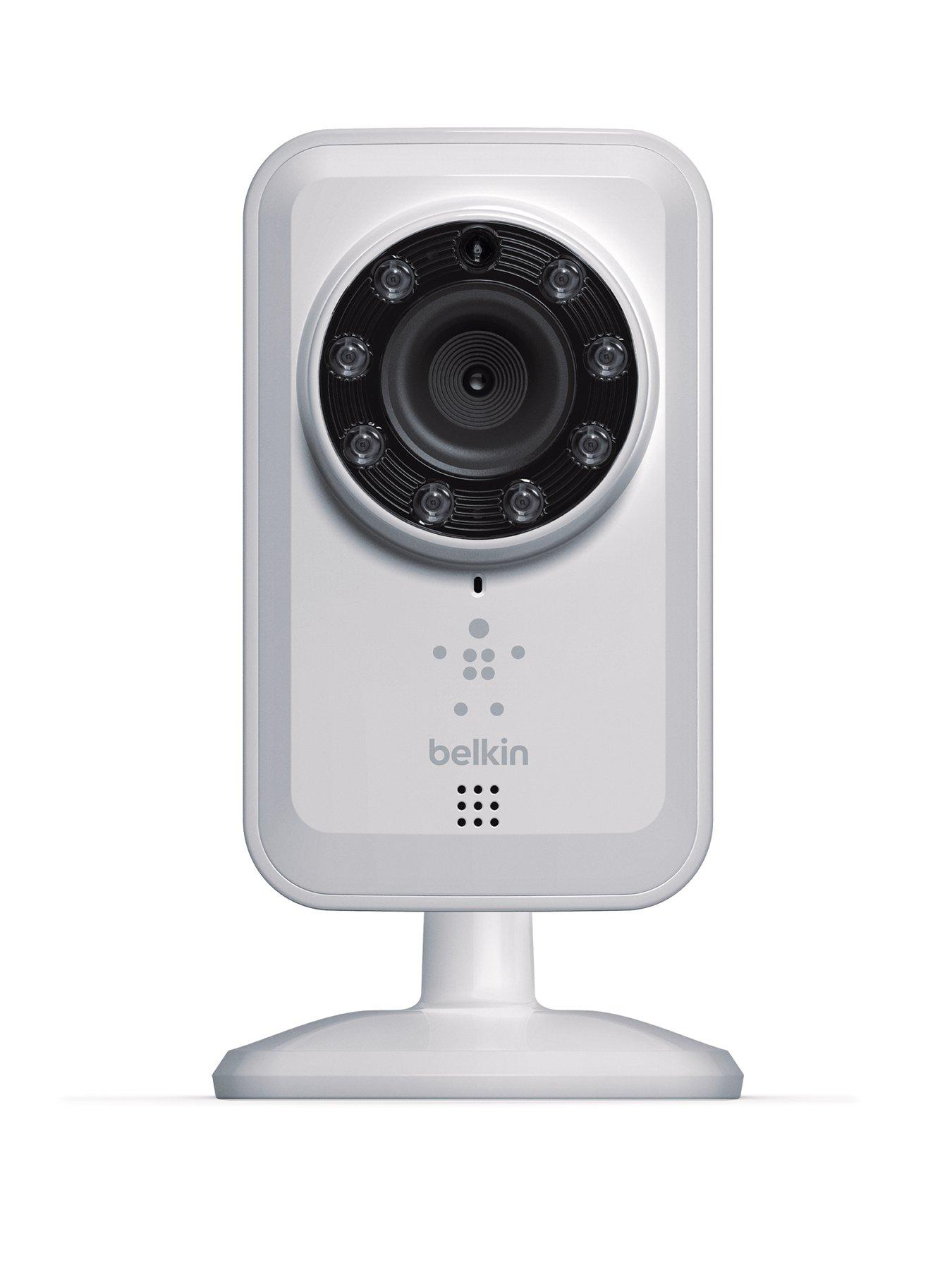 Belkin IP Netcam for Indoor and Night Vision - White