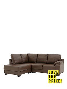 dino-left-hand-faux-leather-corner-chaise-sofa