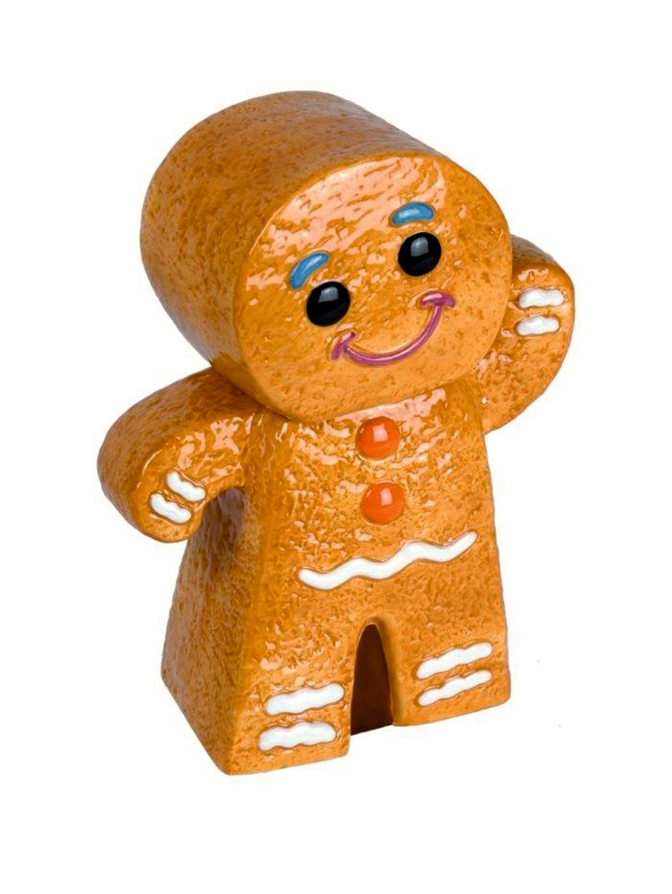 Gingerbread Man Cookie Jar and Biscuits