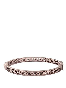 fossil-ladies-stainless-steel-and-rose-gold-ip-plated-signature-print-bangle