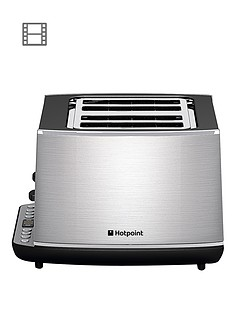 hotpoint-tt44eax0uk-stainless-steel-4-slot-toaster