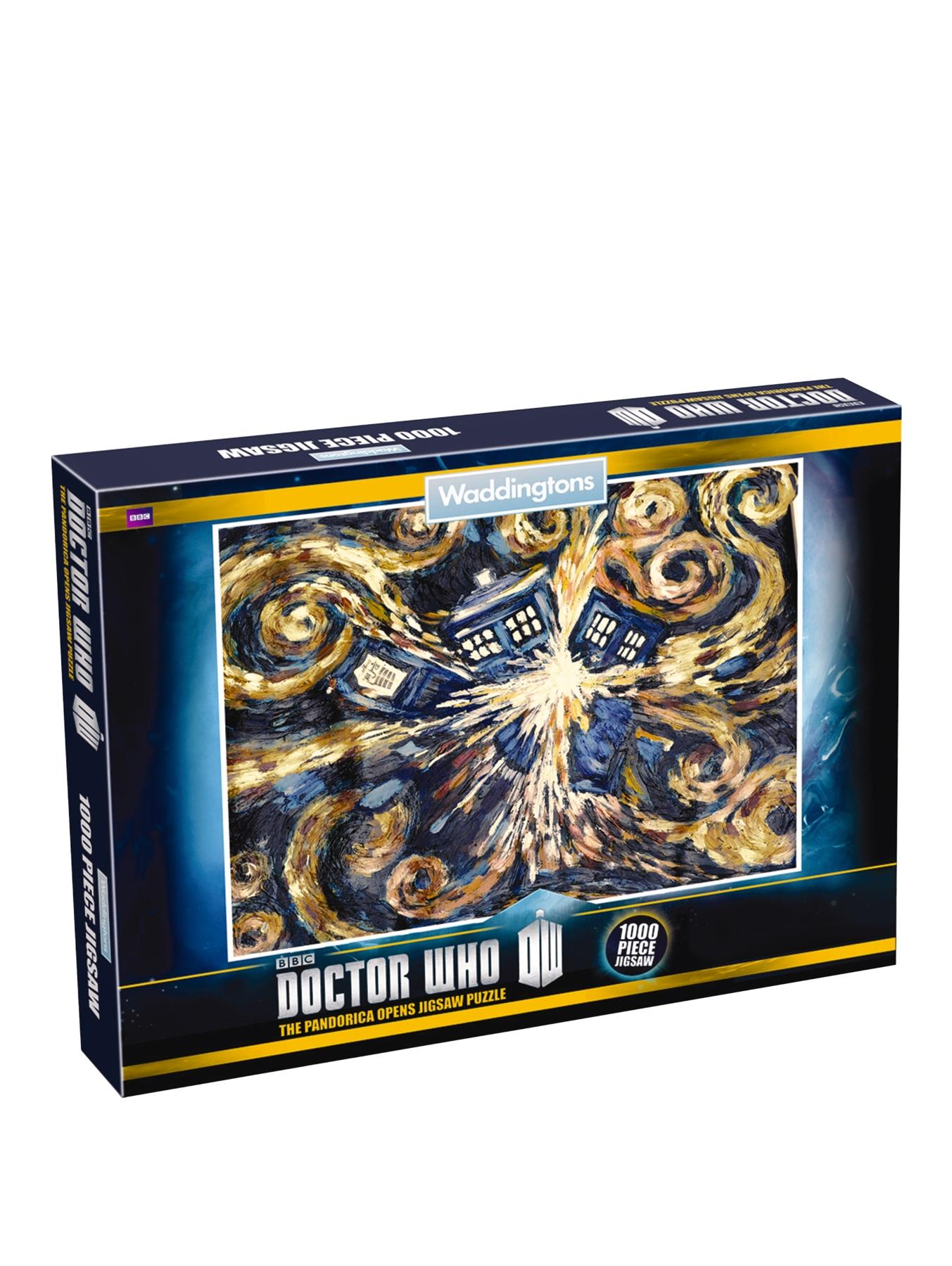 Doctor Who 50th anniversary 1000 piece jigsaw