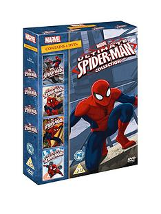 marvel-ultimate-spider-man-vols-1-4-dvd