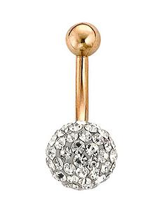 simply-rhona-9-carat-gold-crystal-ball-body-bar