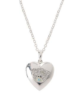 me-to-you-tatty-teddy-silver-plated-pendant-locket-with-crystal-stones