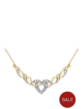 love-diamond-9-carat-yellow-gold-10-point-diamond-fancy-heart-necklet