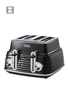 delonghi-scultura-ctz4003bk-4-slice-toaster-black