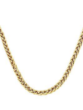 love-gold-9-carat-yellow-gold-fancy-wheatchain-chain