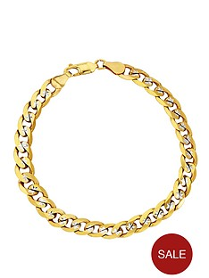 love-gold-9-carat-yellow-gold-pave-diamond-cut-solid-23-oz-curb-bracelet